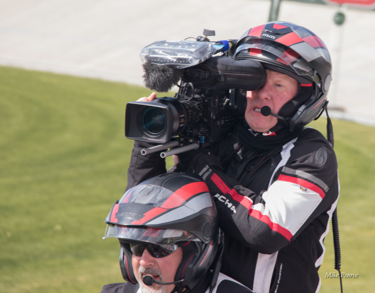Motorcycle camerman