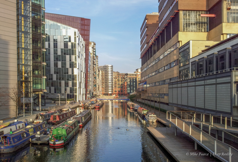 Afternoon in the city: Paddington Basin, London
