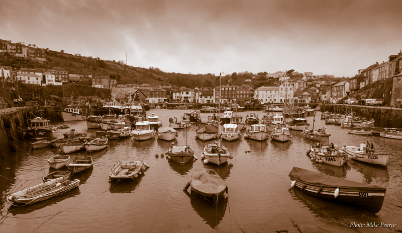 Mevagissey Harbour, Cornwall