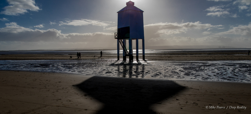 The Low Lighthouse at Burnham on Sea