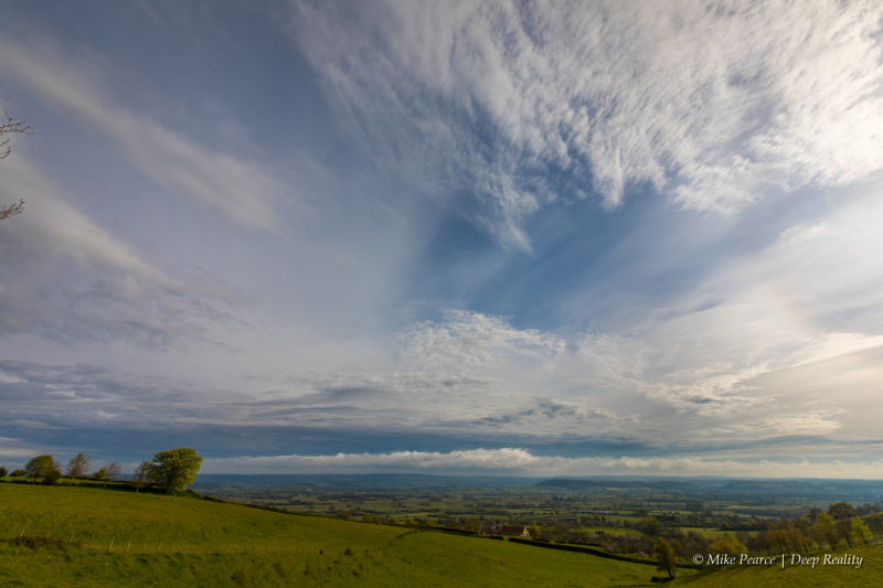 Skyscape - over the Somerset Levels
